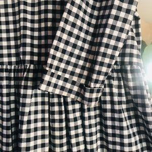Victoria Beckham for Target Tops - Victoria Beckham Blue and White Gingham Top